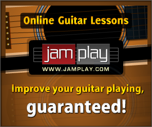 Jam Play. Improve your guitar playing, guaranteed